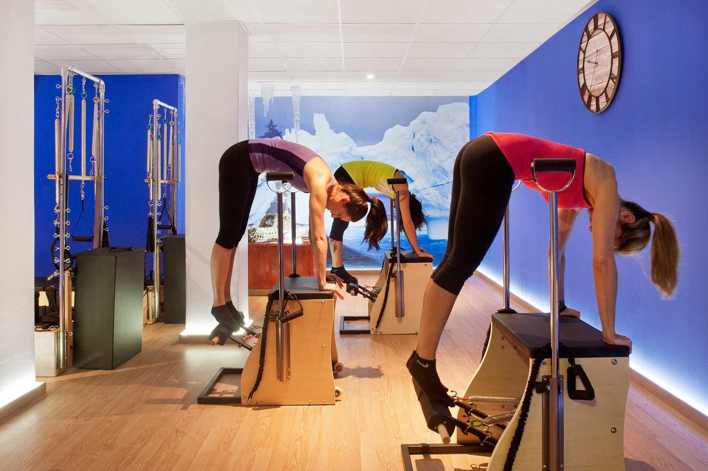 clases de pilates maquinas madrid